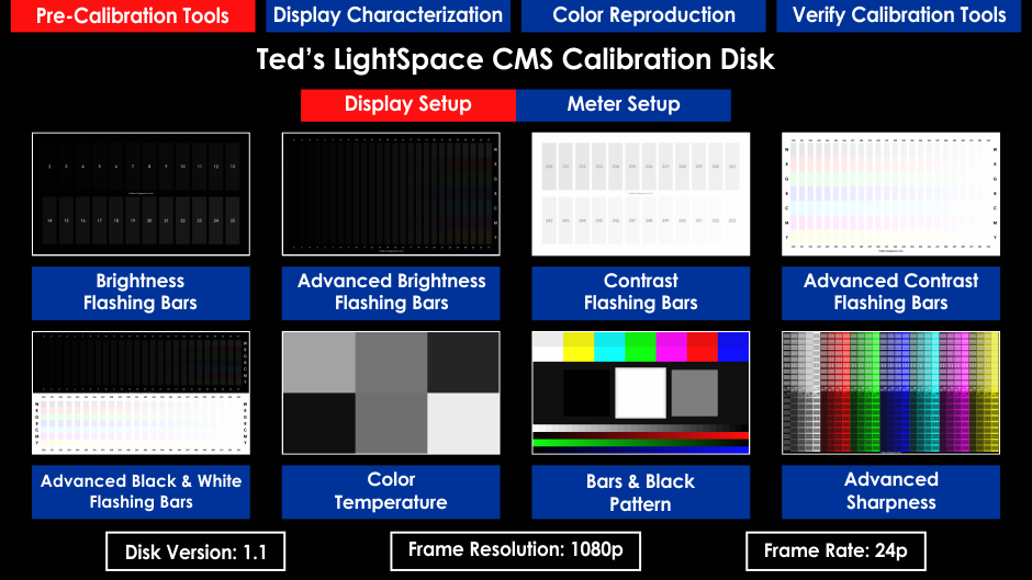 Ted's LightSpace CMS Calibration Disk - Page 23 - AVS Forum | Home